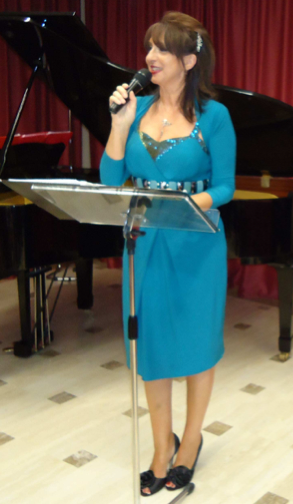 L'attrice Daniela Musini