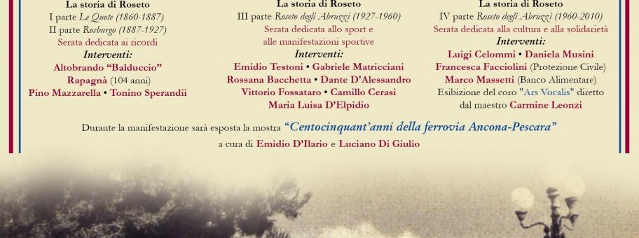 0016 - Film la storia di Roseto 2013 Locandina