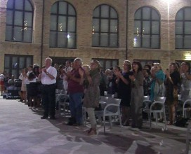 21 lugio 2013 - Pescara, Festival Inernationale D'annunziano - standing ovation per Daniela Musini