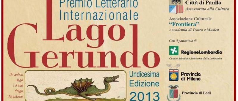 premio internazionale letterario lago gerundo