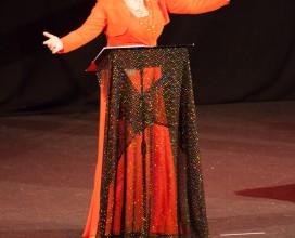 lo spettacolo di Daniela Musini per l'Agbe - Audtorium Flaiano - Pescara - 9 dicembre 2013