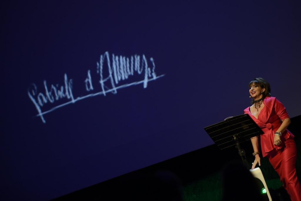 Daniela sul palco fa rivivere la magia dannunziana