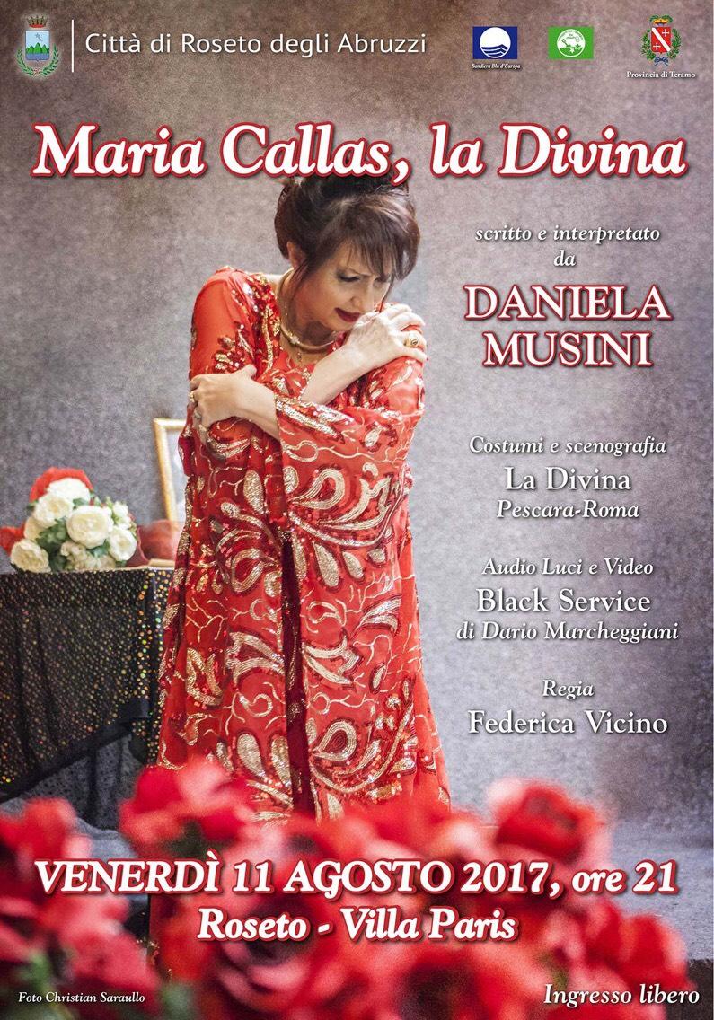 Maria Callas La Divina a Roseto