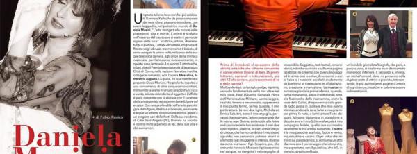 Articolo Dolce vita Daniela Musini