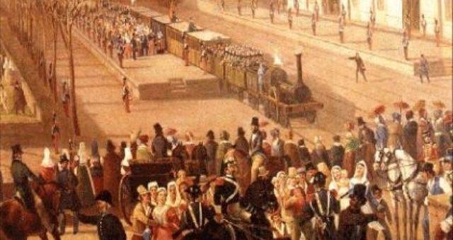Prima ferrovia in Italia