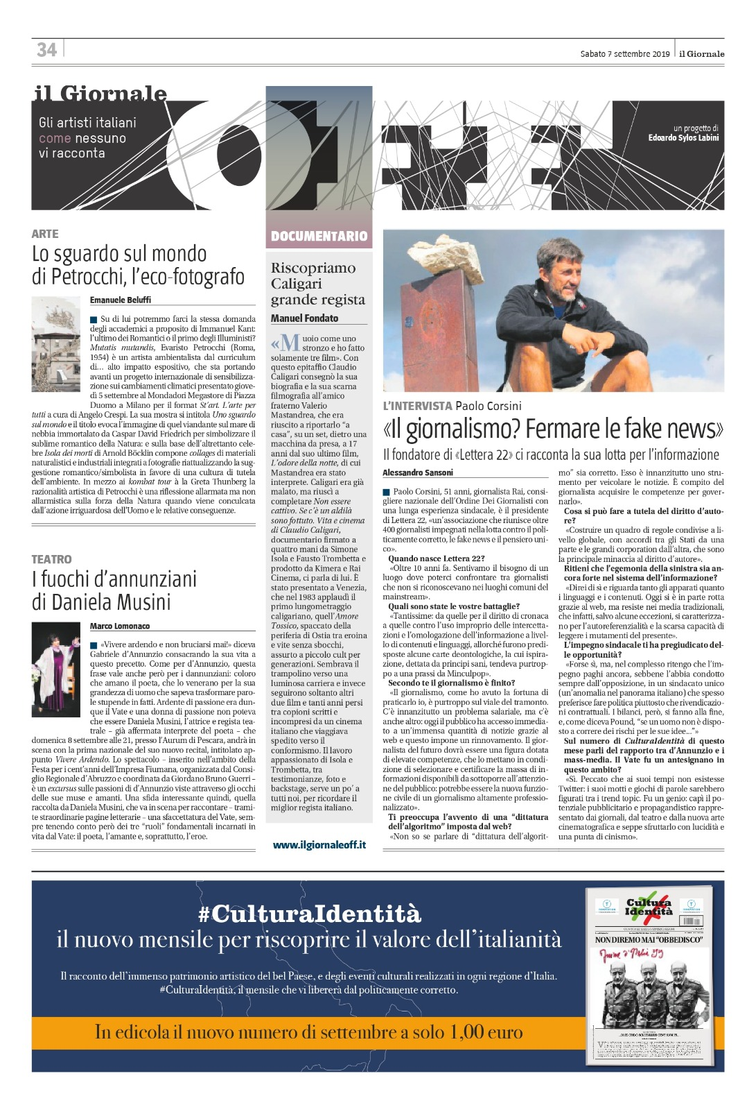 Il Giornale 7 settembre 2019